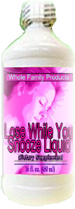 Lose While You Snooze Liquid 16 oz collagen night time lose weight drink
