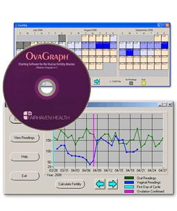 OvaCue OvaGraph Fertility Monitor Software