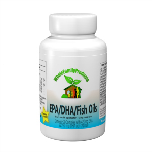 WFP EPA DHA Fish Oils-dha, epa, fish oils, increase HDL, lower LDL, Omega 3 fatty acids